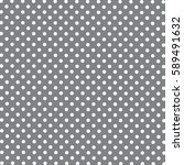 Seamless Pattern Of Dots  Blac...