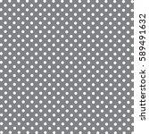 Seamless Pattern Of Dots  Blac...