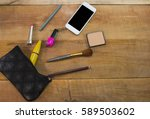 daily women's things on the... | Shutterstock . vector #589503602