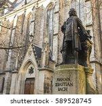 Bach Monument Stands Since 1908 - Fine Art prints