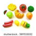 food toy | Shutterstock . vector #589533032
