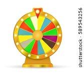 wheel game | Shutterstock .eps vector #589543256