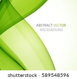 abstract green wave   Shutterstock .eps vector #589548596