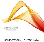 abstract multicolored wave   Shutterstock .eps vector #589548662