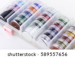 jewelry making and beading...   Shutterstock . vector #589557656