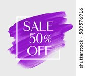Sale Special 50  Off Sign Over...