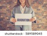 graduation concept | Shutterstock . vector #589589045