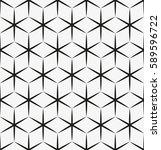 vector seamless pattern. modern ... | Shutterstock .eps vector #589596722