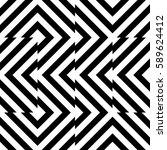vector seamless pattern.... | Shutterstock .eps vector #589624412