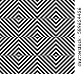 vector seamless pattern.... | Shutterstock .eps vector #589624436