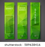 set of vertical banners with... | Shutterstock .eps vector #589638416