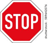 to stop. to provide advantage.... | Shutterstock .eps vector #589642076