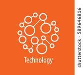 vector logo technology | Shutterstock .eps vector #589646816
