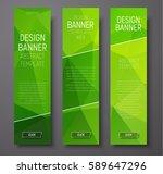 design of vertical web banners... | Shutterstock .eps vector #589647296