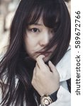 asian women   Shutterstock . vector #589672766