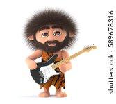 3d render of a funny cartoon...   Shutterstock . vector #589678316