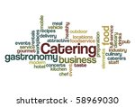 catering   word cloud | Shutterstock .eps vector #58969030