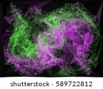 abstract multicolor mosaic... | Shutterstock .eps vector #589722812