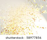 star shaped confetti | Shutterstock . vector #58977856