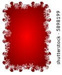 christmas decoration | Shutterstock .eps vector #5898199