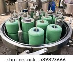 machines for dyeing industry... | Shutterstock . vector #589823666