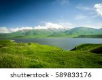 mountains and lakes of armenia | Shutterstock . vector #589833176