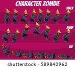 game kits adventure  character... | Shutterstock .eps vector #589842962