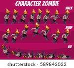 game kits adventure  character... | Shutterstock .eps vector #589843022