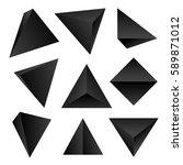 gradient black color various...   Shutterstock . vector #589871012