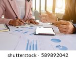 business concept. business... | Shutterstock . vector #589892042