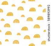 seamless hand drawn pattern | Shutterstock .eps vector #589893992
