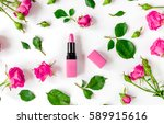 berry color decorative... | Shutterstock . vector #589915616