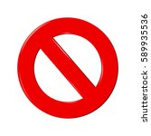 no sign   Shutterstock . vector #589935536