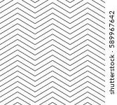 stylish thin line chevron.... | Shutterstock .eps vector #589967642