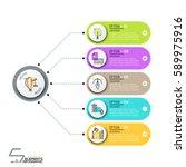modern infographic design... | Shutterstock .eps vector #589975916