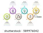 modern infographic design... | Shutterstock .eps vector #589976042