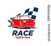 car racing logo template  ...   Shutterstock .eps vector #589990436