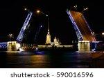 background of dark night sky of ... | Shutterstock . vector #590016596