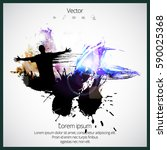 silhouette of dancing people   Shutterstock .eps vector #590025368