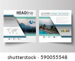 business templates for square... | Shutterstock .eps vector #590055548