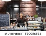 small business  people and... | Shutterstock . vector #590056586