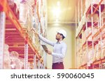 wholesale  logistic  business ... | Shutterstock . vector #590060045