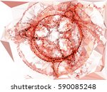 abstract multicolor mosaic... | Shutterstock .eps vector #590085248