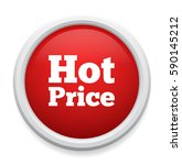 hot price button | Shutterstock .eps vector #590145212