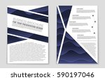 abstract vector layout... | Shutterstock .eps vector #590197046
