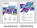 abstract vector layout... | Shutterstock .eps vector #590201006