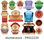labels   Shutterstock .eps vector #59022220