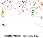 celebration carnival. bright... | Shutterstock .eps vector #590229152