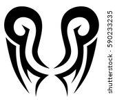 tattoos ideas designs   tribal... | Shutterstock .eps vector #590233235