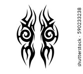 tattoos ideas designs   tribal... | Shutterstock .eps vector #590233238